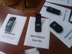 Benefon with GPS and Motorola StarTAC